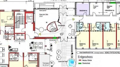 Neubau Wohngruppen für Senioren